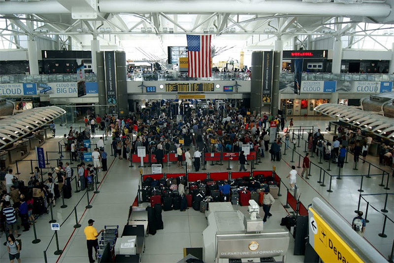 Terminal 1 de l'aéroport JFK
