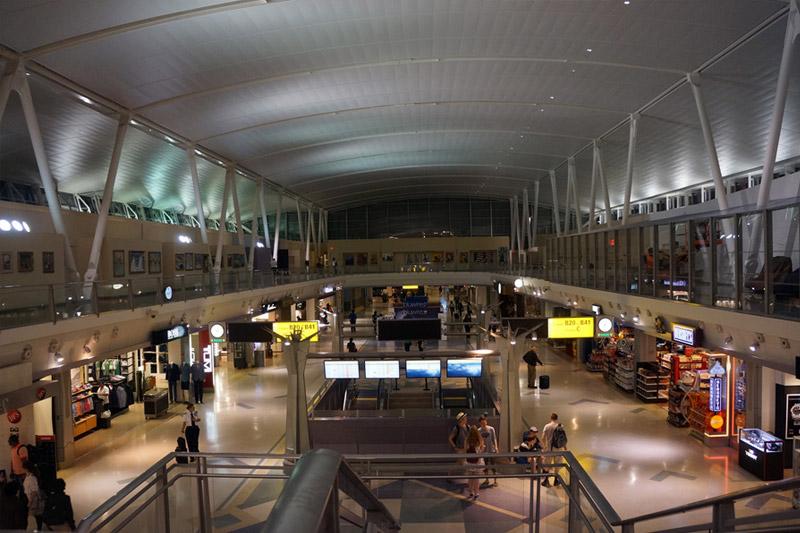 Terminal 4 de l'aéroport JFK