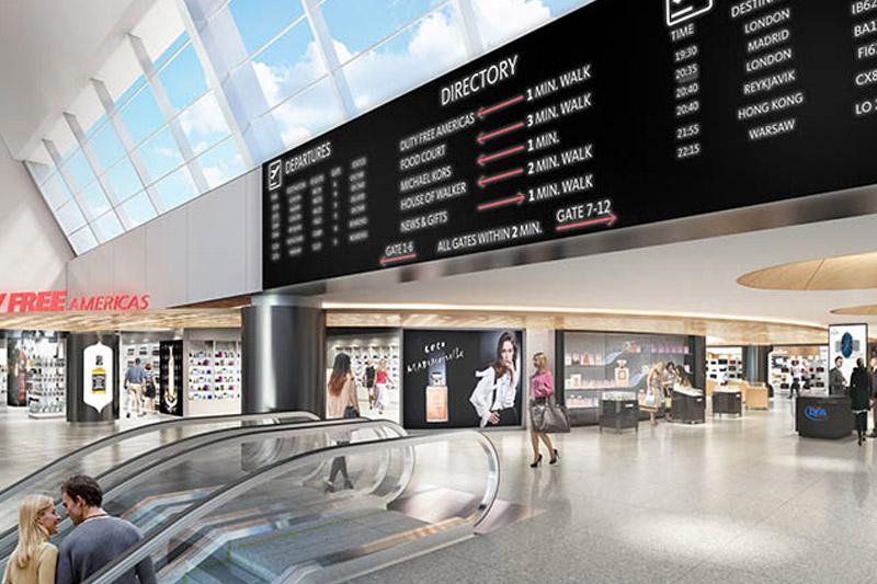 Terminal 7 de l'aéroport JFK