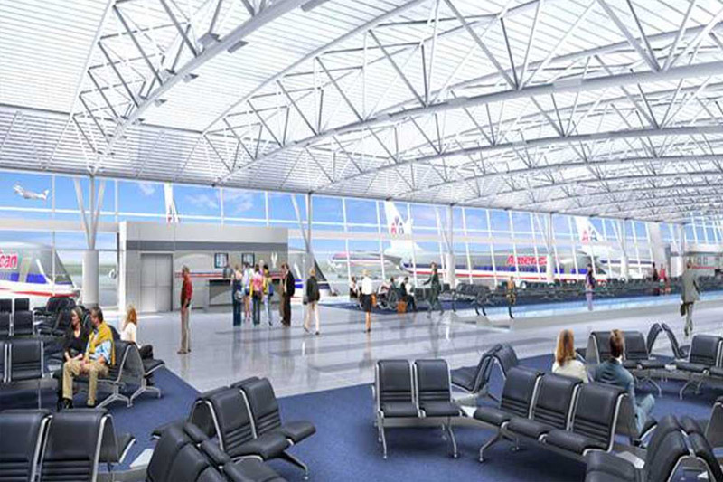 Terminal 8 de l'aéroport JFK