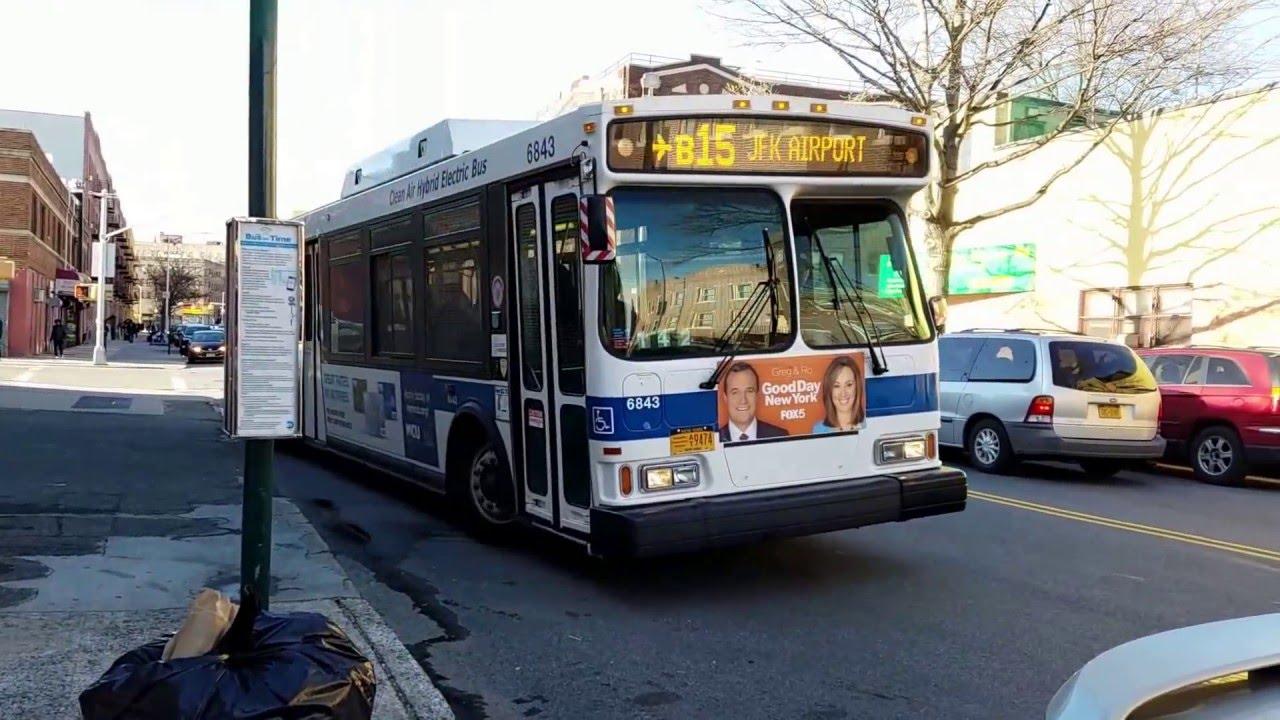 Bus B15 de l'aéroport JFK à Brooklyn