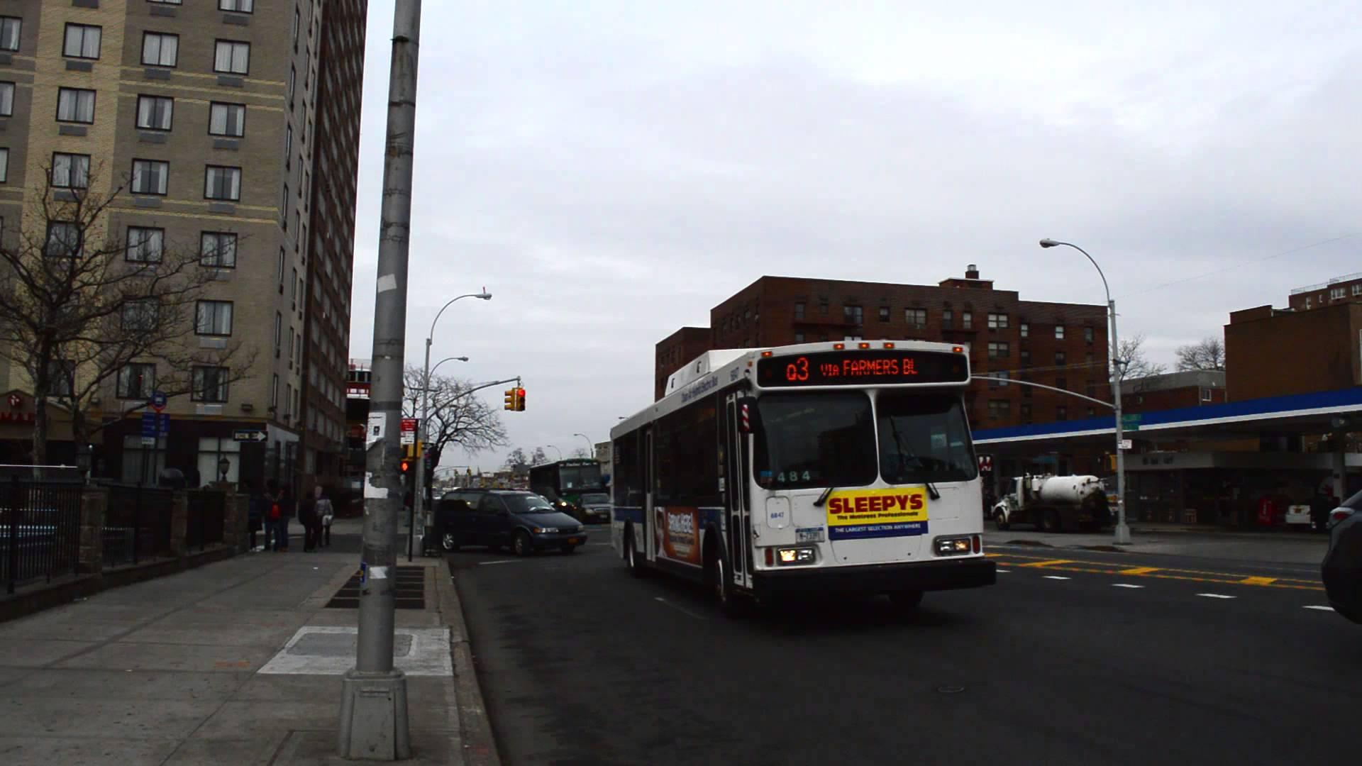 Bus Q3 de l'aéroport JFK vers le Queens