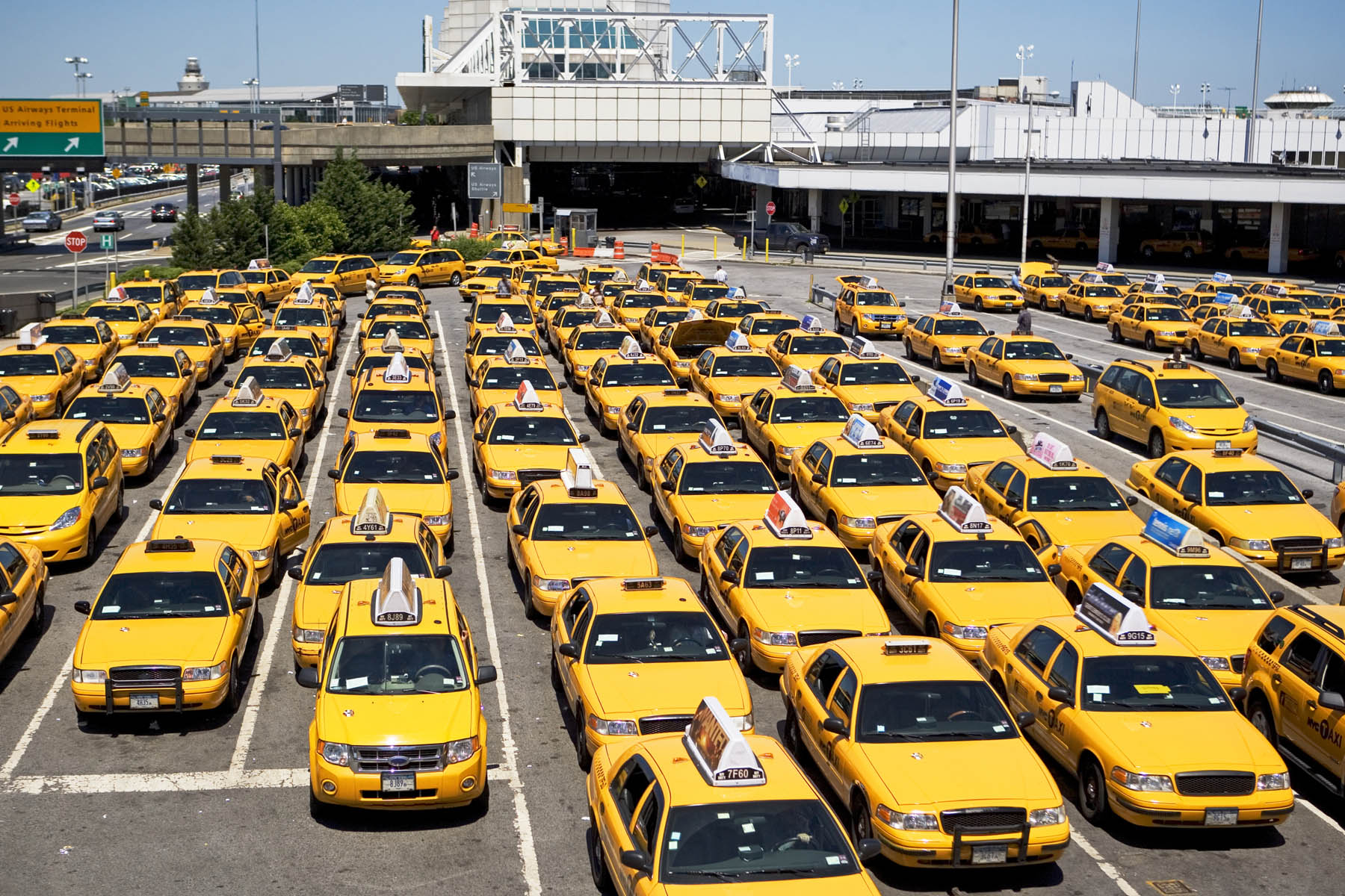 Taxis à l'aéroport JFK