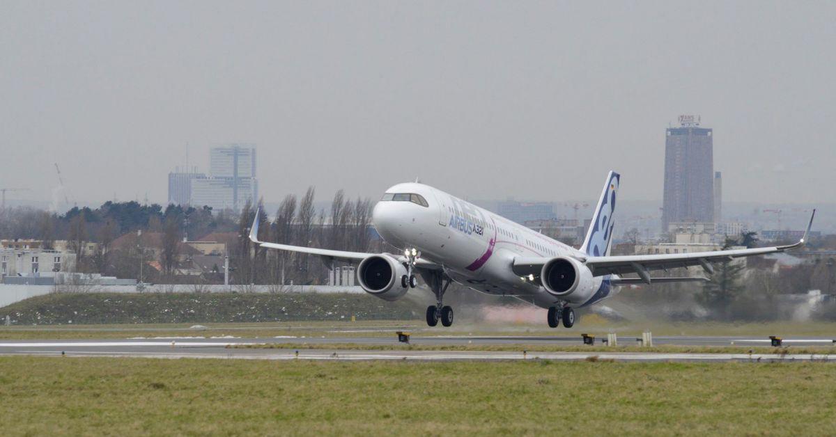 Airbus A321neo à destination de New York